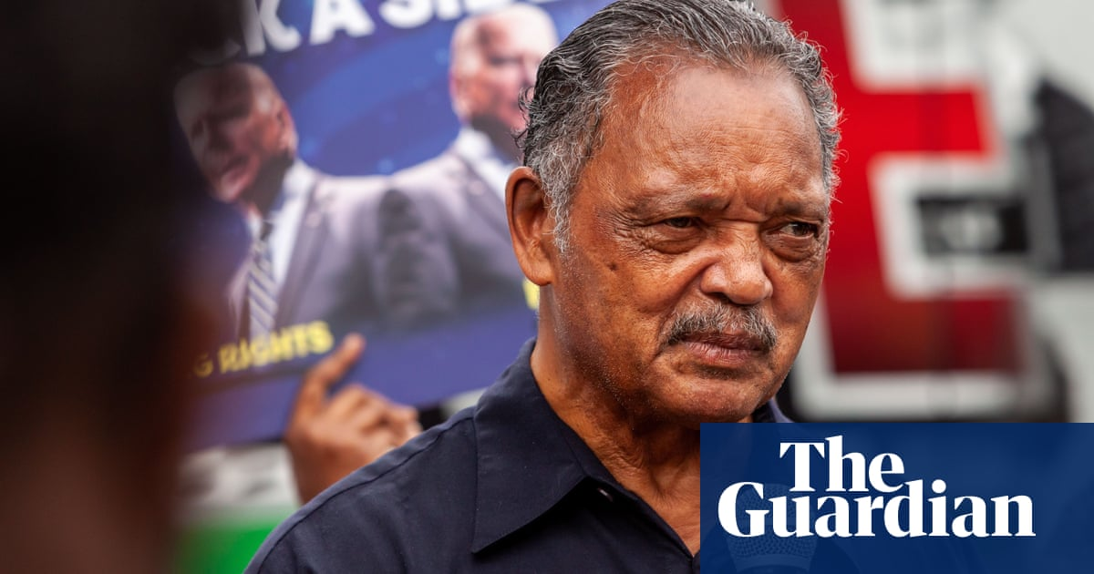 Rev Jesse Jackson and wife 'responding positively' to Covid treatment, says son