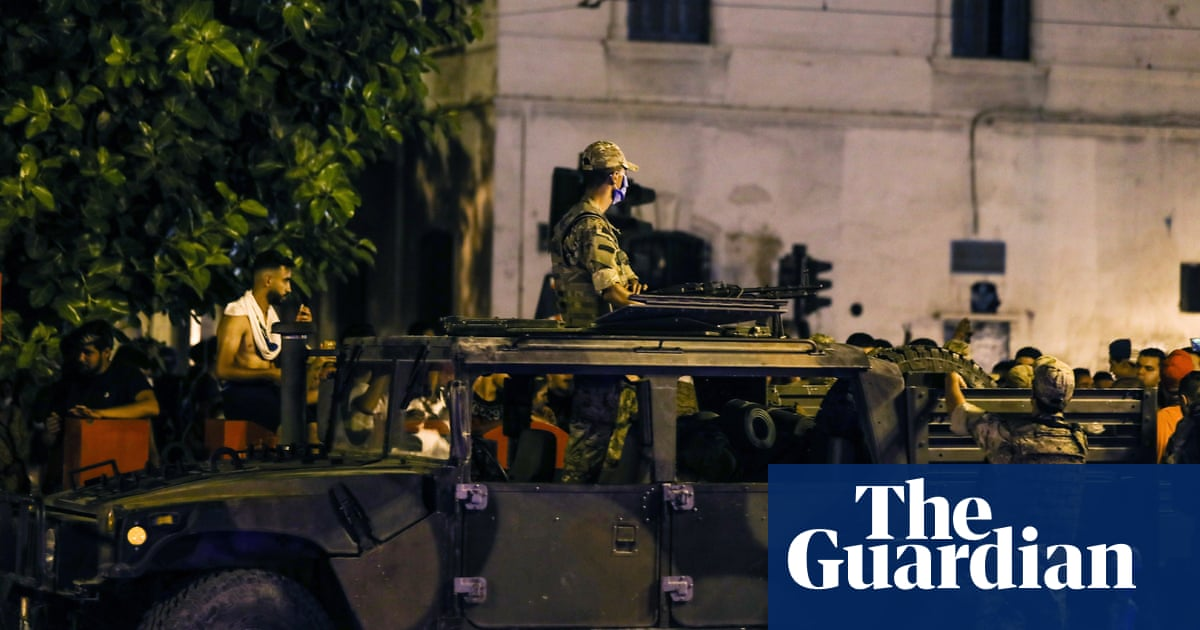 Tunisia president imposes curfew amid coup accusations