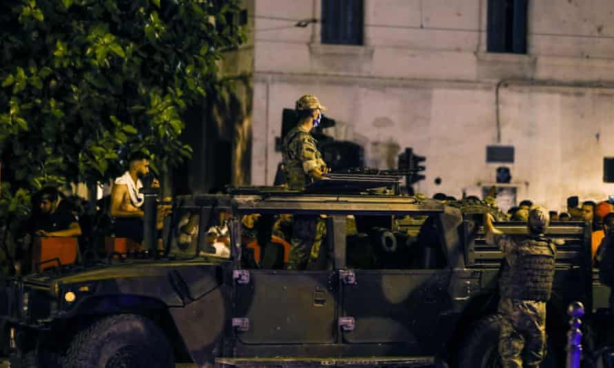 Tunisia president Kais Saied imposes a curfew but denies allegations of a coup