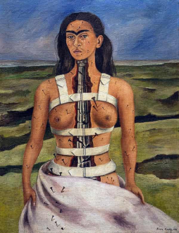 The Broken Column, 1944, Frida Kahlo.