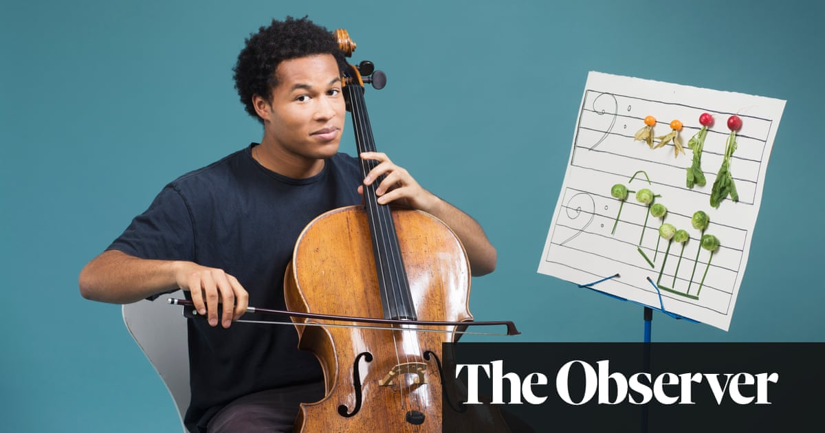 Sheku Kanneh-Mason: 'I once made pasta in a kettle. I wouldn't recommend it'