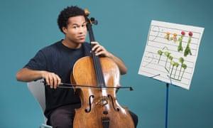 Cellist Sheku Kanneh-Mason.