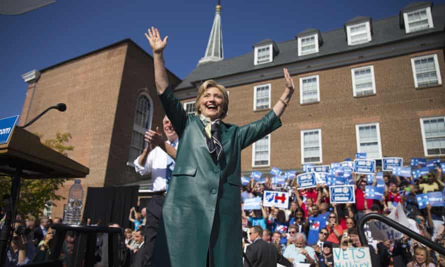 Hillary Clinton Terry McAuliffe