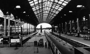 Liverpool Street station, 1975