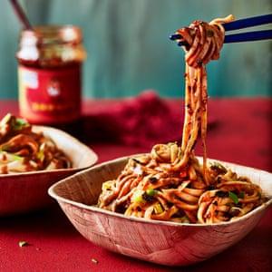 Sesame chilli noodles from Wei Xiang Zhai by Michael Zee.