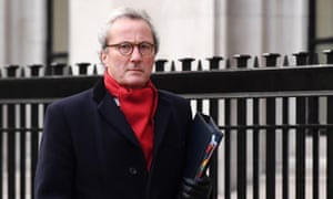 Lord Richard Keen QC arrives at the supreme court in London, today.