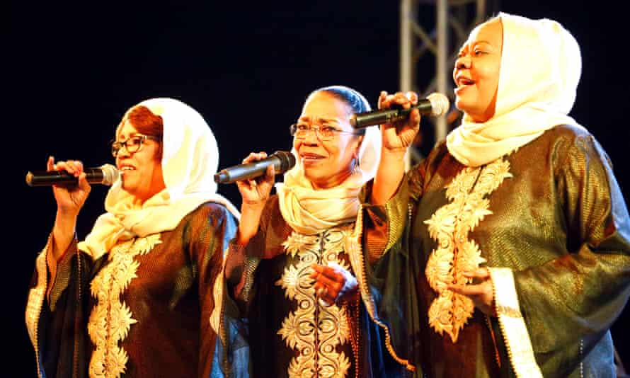 Sisters Amal, Hadia and Hayat Talsam were known in their heyday as the 'Sudanese Supremes'