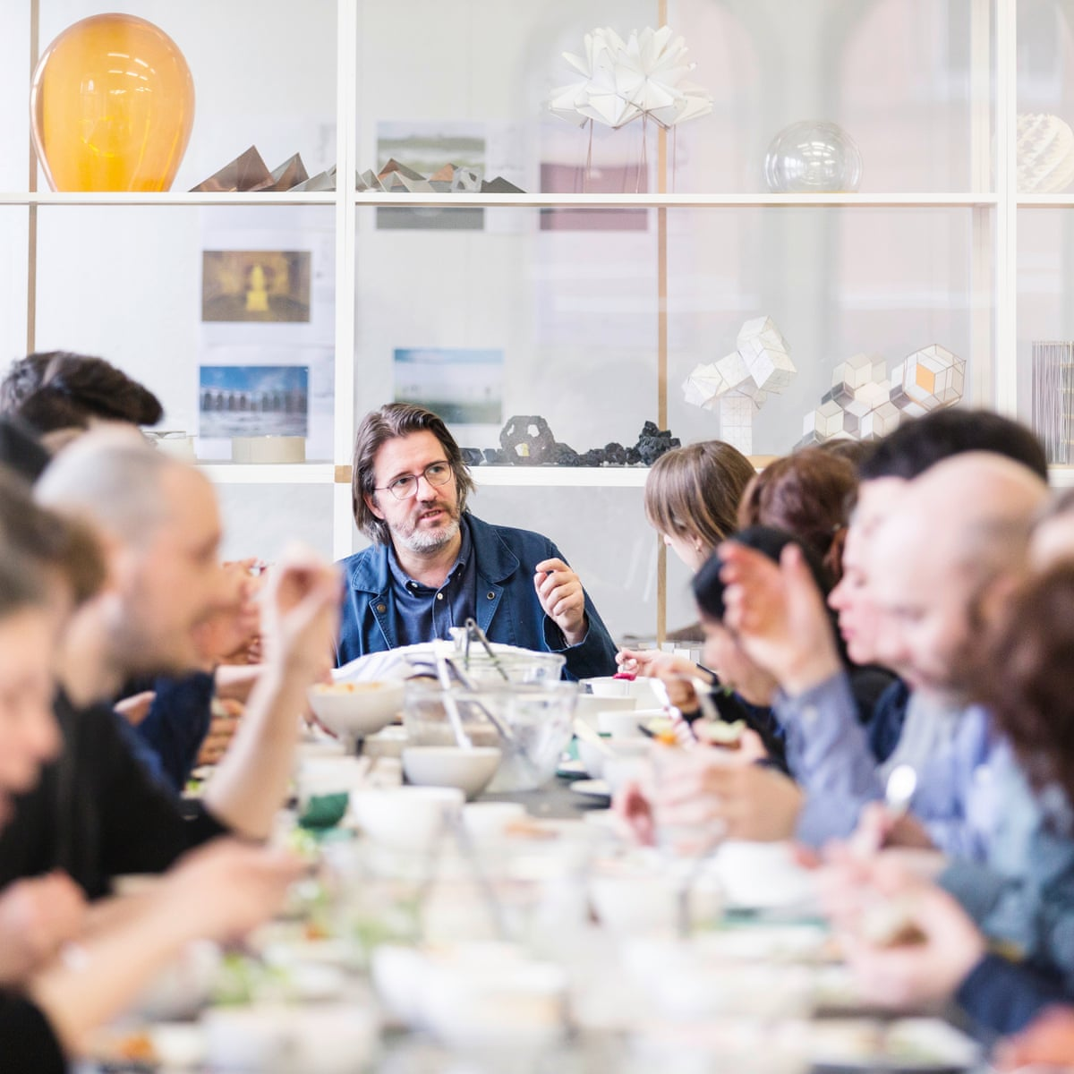 Porn Eating On Floor food for thought: the art of eating with olafur eliasson