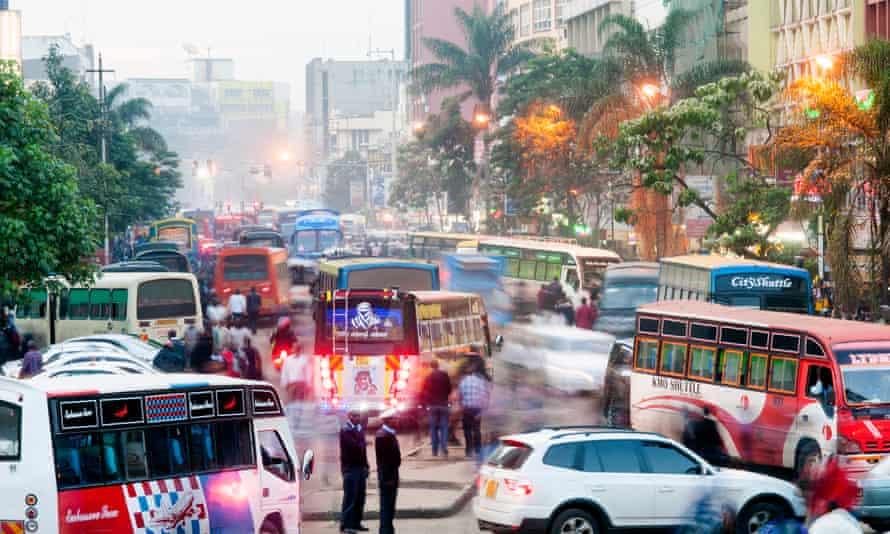 Rush hour in Nairobi