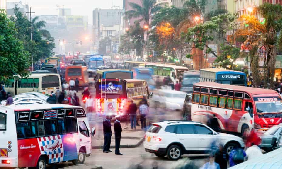 Congestion in Nairobi