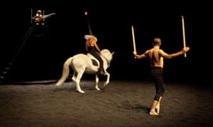 Golgota, the show Bartabas is bringing to Sadler's Wells in London