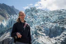 Kieran Baxter at Mont Blanc