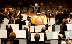 Daniel Barenboim in rehearsal with the Berlin Staatskapelle.