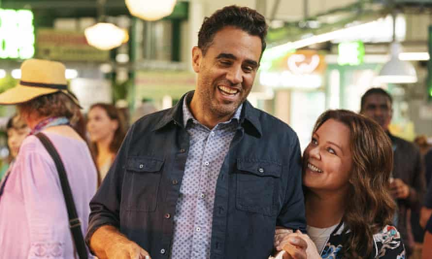 Bobby Cannavale and Melissa McCarthy in Superintelligence. Not a total disaster of film, but another regrettable waste of her talent.