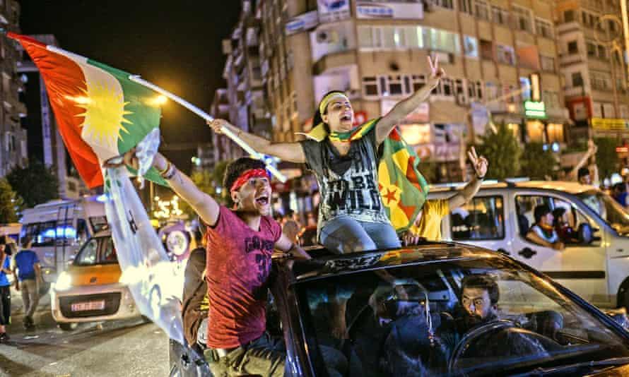 Turkish election celebrations