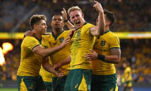 Bledisloe Cup 2019 Wallabies 47 26 All Blacks Rugby Championship As It Happened Sport The Guardian