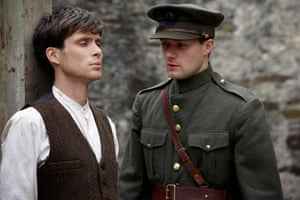 Murphy with Pádraic Delaney in Ken Loach's 2006 The Wind That Shakes the Barley. Photograph: Joss Barratt