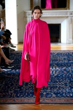 Valentino, SS17, Paris fashion week, October 2016.