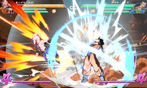 The game's special moves employ lavish special effects, lending incredible kinetic energy to each fight