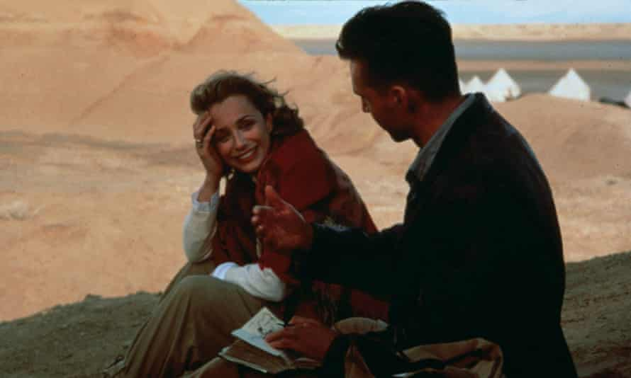 Kristin Scott Thomas and Ralph Fiennes in Anthony Minghella's 1996 film of The English Patient
