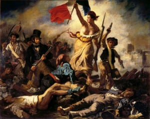 Liberty Leading the People (1831) by Delacroix.
