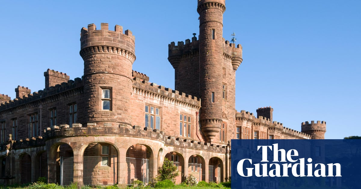 Scottish island castle, with barrel organ and rot issues, seeks caring new owner