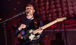 The Maccabees in concert at the O2 Academy Brixton, London