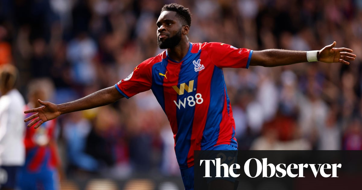 Odsonne Édouard's debut double sees Crystal Palace sink 10-man Tottenham