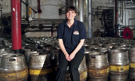 Jane Kershaw, of the Manchester brewery Joseph Holt