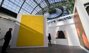 Last year's Foire Internationale d'Art Contemporain at the Grand Palais in Paris.