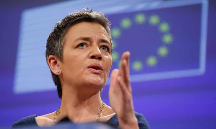 Europe's competition commissioner, Margrethe Vestager