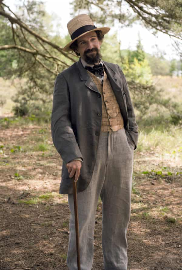 As Charles Dickens in The Invisible Woman.