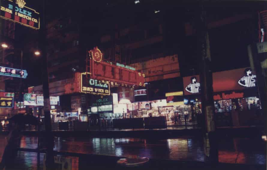 Hong Kong  served as the inspiration for the film's brutalist, concrete-neon backdrops