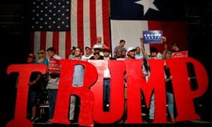 A rally for Donald Trump in Austin, Texas, in August.
