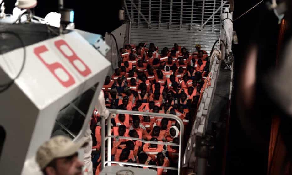 Malta had refused to allow the SOS Méditerranée Aquarius to dock.
