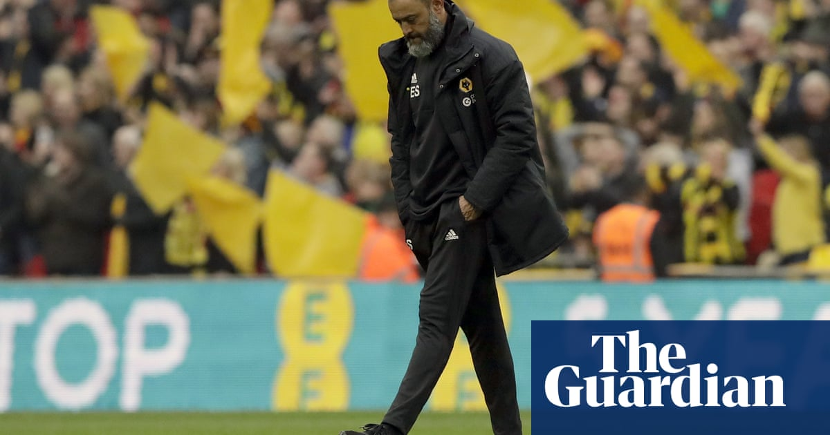'Everybody felt that sadness': Nuno says Wolves grieved after Cup semi-final exit