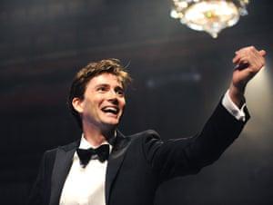 David Tennant (Hamlet) in Hamlet by The Royal Shakespeare Company at the Novello theatre, 2008
