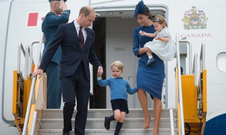 Prince William and Kate's children begin 'lifetime of friendship' with Canada