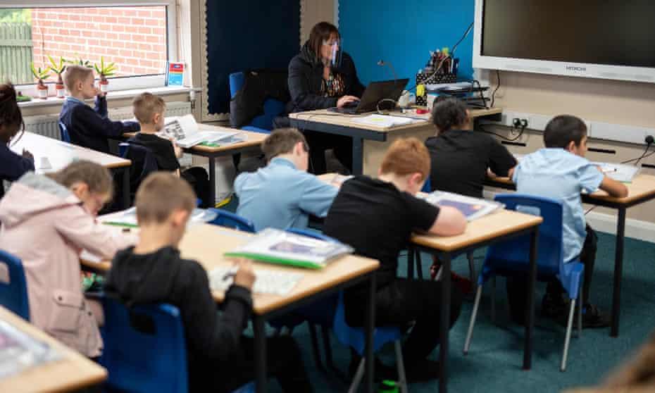 A primary school in Oldham, Lancashire