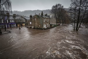 Floods in West Yorkshire, UK, by Steve MorganOn Boxing Day 2015, a thriving former mill town in the Calder valley, Hebden Bridge, was flooded. Sirens echoed around the valley at 7.30am alerting sleeping residents to the rising waters about to engulf the town.