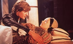 Attractive and spectacular … Leonard Whiting and Olivia Hussey as Romeo and Juliet.