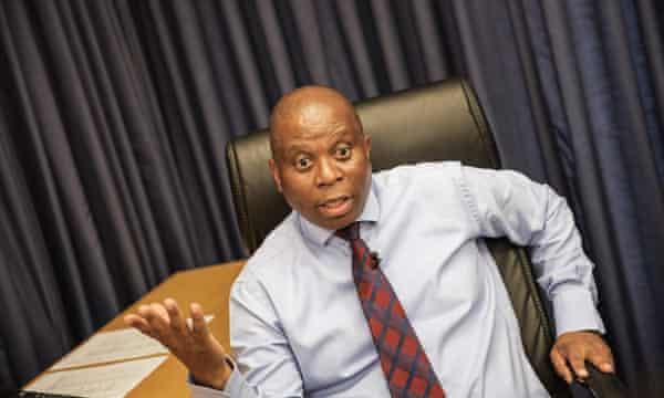 Johannesburg mayor Herman Mashaba.