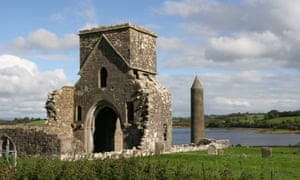Devenish Island, a monastic site from the early Christian period.