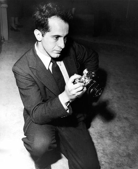 Robert Frank in 1954.