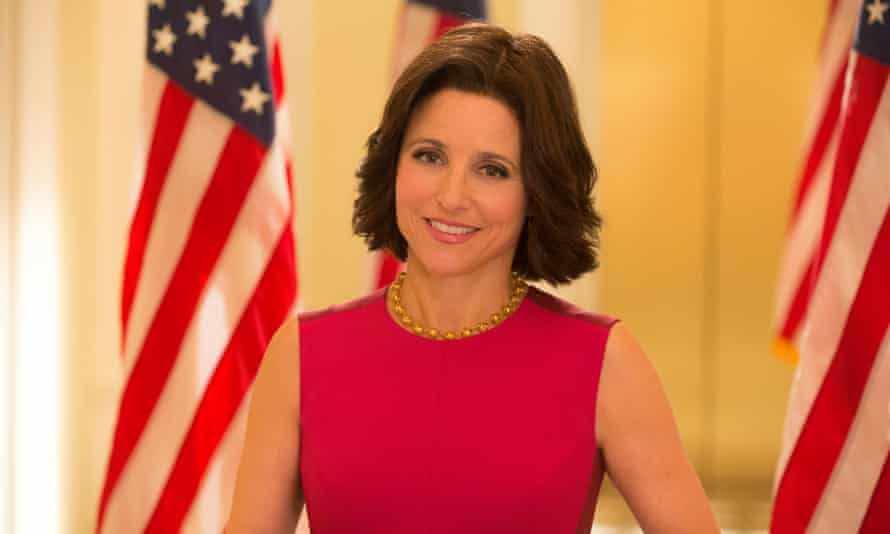 'A performance I can't imagine any other actor getting quite as right, male or female' … Julia Louis-Dreyfus as Selina Meyer in Veep.