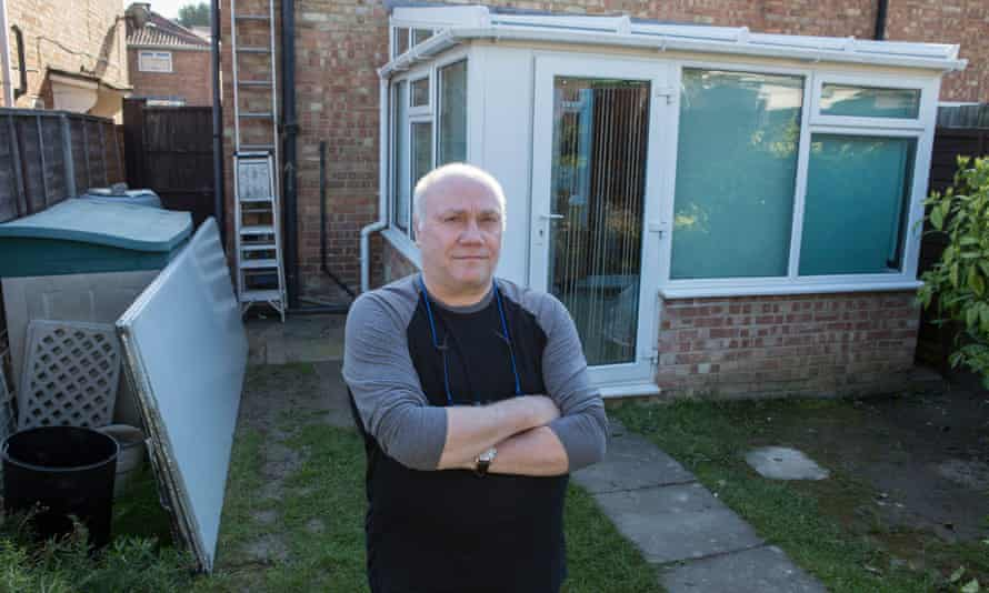 Les Clark, who just wanted his conservatory roof replaced, is resigned to losing his 50% deposit.