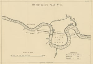 Plans to straighten the River Thames