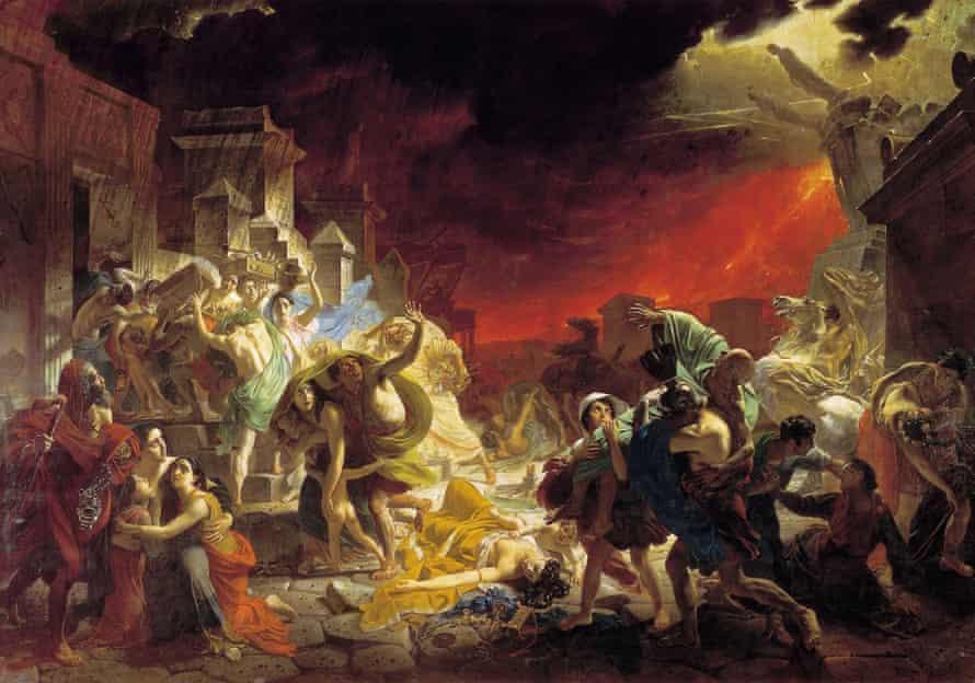 Karl Briullov, Last Days of Pompeii, 1830-1833. Oil on canvas. 456.5 x 651 cm.