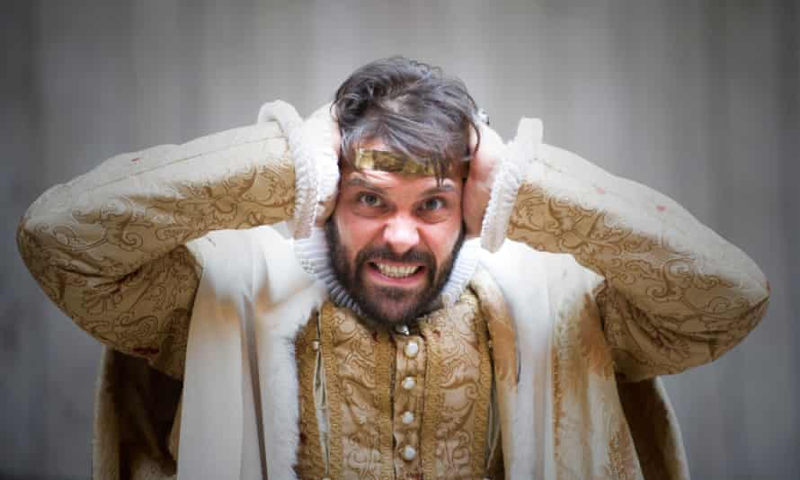 Blood on his hands ... Joseph Millson as Macbeth in Shakespeare's Globe's 2013 production