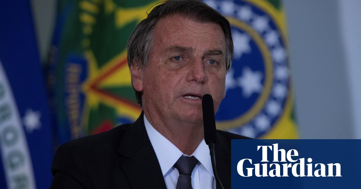 Amazon rainforest 'will collapse if Bolsonaro remains president'